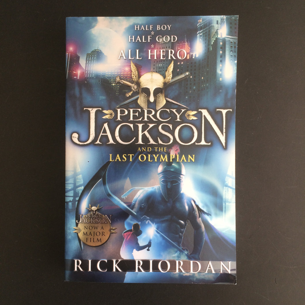 Rick Riordan - Percy Jackson and the Last Olympian