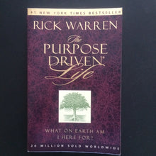 Load image into Gallery viewer, Rick Warren - The Purpose Driven Life