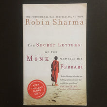 Load image into Gallery viewer, Robin Sharma - The Secret Letters of the Monk Who Sold His Ferrari