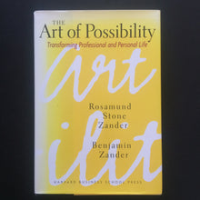 Load image into Gallery viewer, Rosamund Stone Zander and Benjamin Zander - The Art of Possibility
