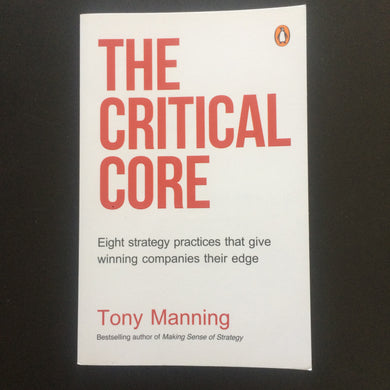 Tony Manning - The Critical Core