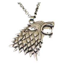 Load image into Gallery viewer, House Stark Pendant Necklace