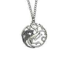 Load image into Gallery viewer, House Targaryen Pendant Necklace