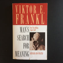 Load image into Gallery viewer, Viktor E. Frankl - A Man's Search For Meaning