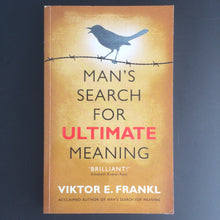 Load image into Gallery viewer, Viktor E. Frankl - Man's Ultimate Search for Meaning