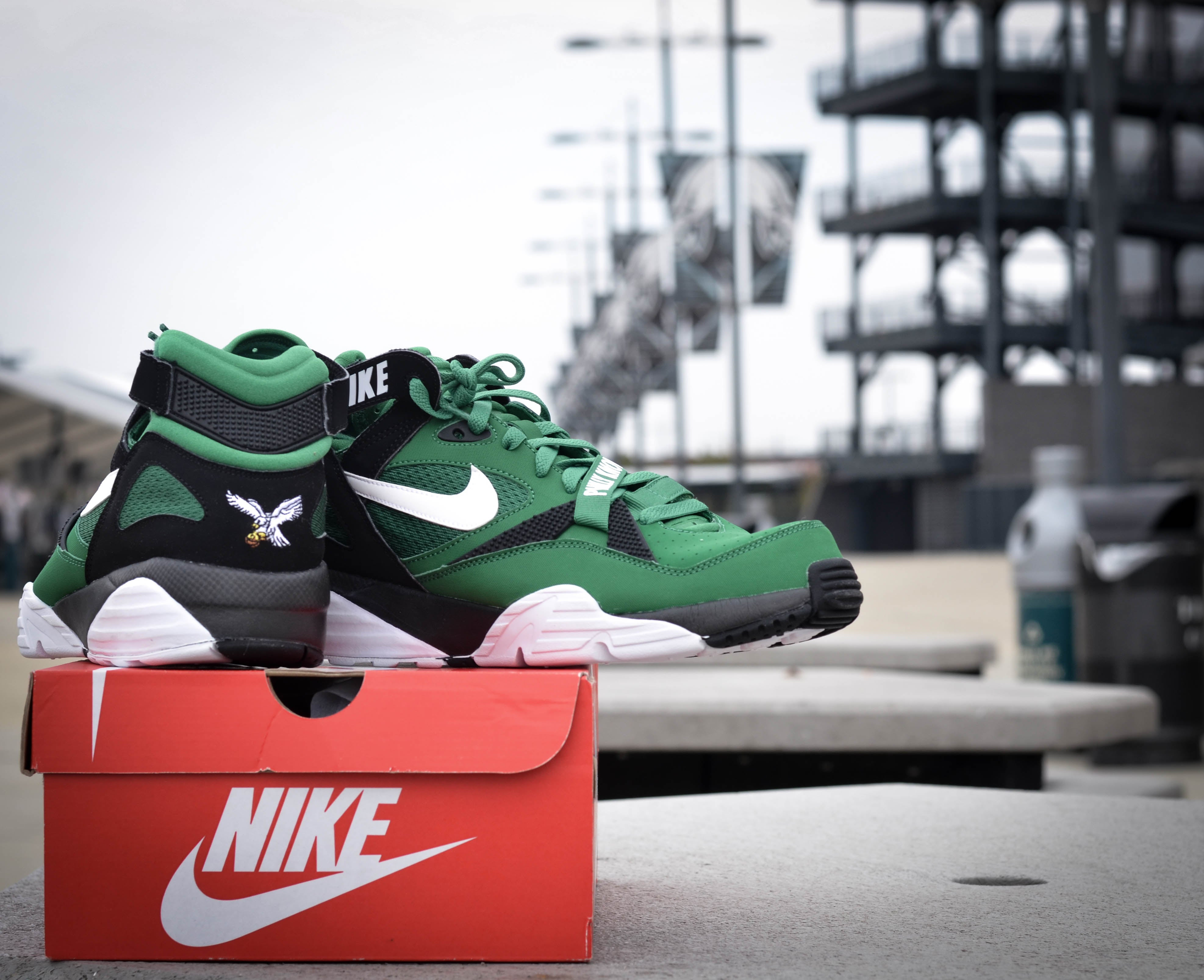 Nike Formateur Air Max 91 Philadelphia Eagles Taille 9