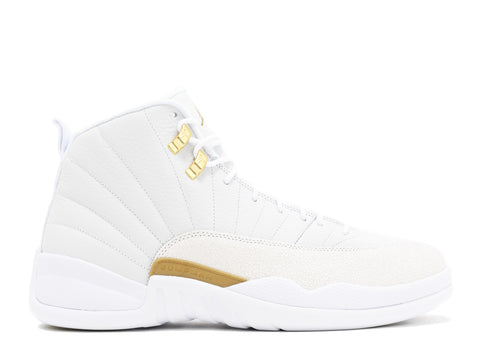 "Air Jordan 12 Retro ""OVO"" ""White Gold"""