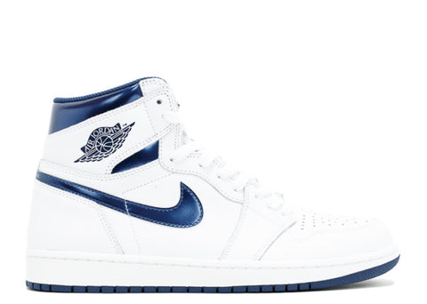 Air Jordan 1 Retro High (2016) OG white/metallic navy