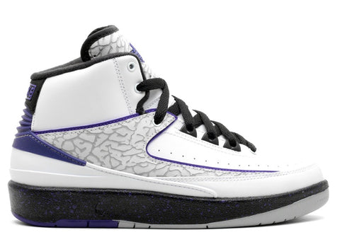 Air Jordan 2 Retro GS white/concord