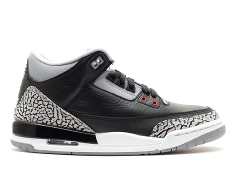 Air Jordan 3 Retro GS black/cement grey