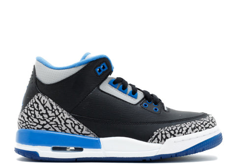 "Air Jordan 3 Retro GS ""Sport Blue"""