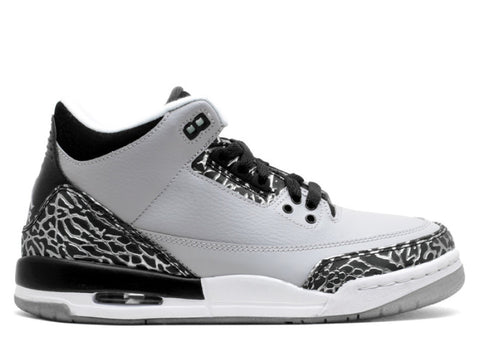 "Air Jordan 3 Retro GS ""Wolf Grey"""