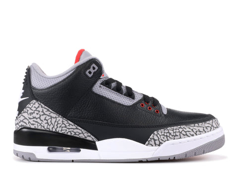 "Air Jordan 3 Retro OG (2018) ""Black Cement"""