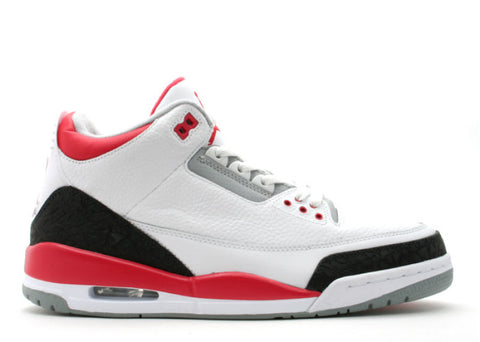 "Air Jordan 3 Retro (2006) ""Fire Red"""
