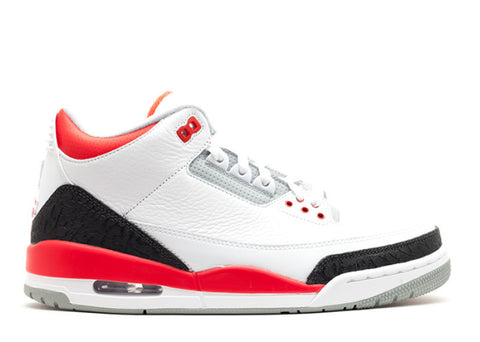 Air Jordan 3 Retro (2013) white/fire red