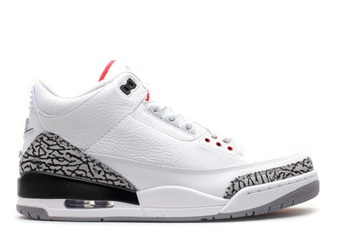 Air Jordan 3 Retro 88 white/fire red cement grey