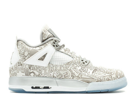 "Air Jordan 4 Retro Laser GS ""Chrome"""