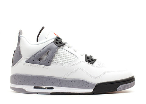 "Air Jordan 4 Retro GS (2012) ""White Cement"""