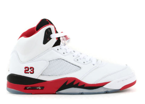 "Air Jordan 5 Retro (2006) ""Fire Red"""