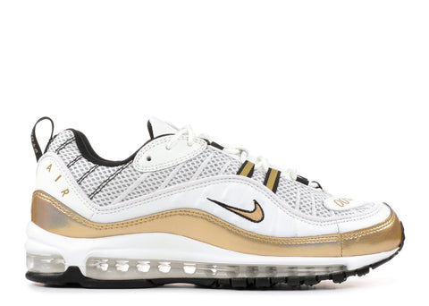 "Nike Air Max 98 UK ""GMT"" white/gold"