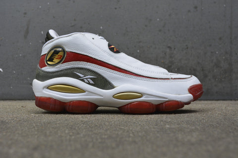 Reebok Answer white/red-gold