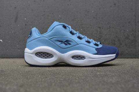Reebok Question Low carolina blue/navy