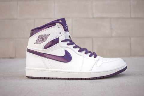 "Air Jordan 1 Retro High ""Metallic Purple"""