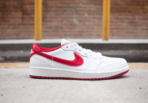 Air Jordan 1 Retro Low OG white/red