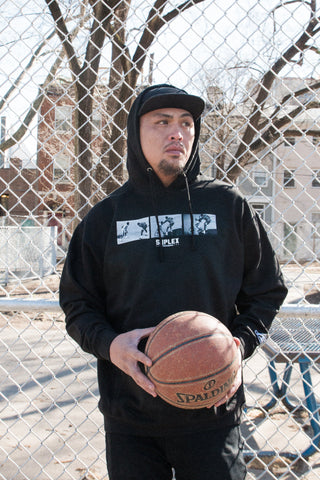 "Iverson ""Cross Over"" Hooded Sweat"
