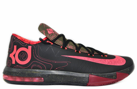 "Nike KD 6 black/atomic red  ""Meteorology"""