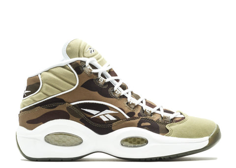 "Reebok Question Mid x Bape ""Camo"""