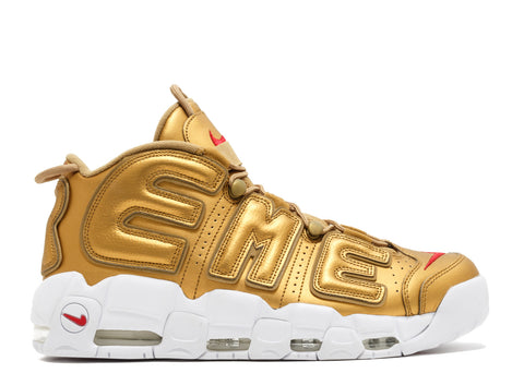 "Nike Air More Uptempo x Supreme ""Metallic Gold"""