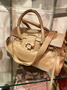 Jimmy Choo Leather Bag - Light Brown