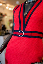 Gucci Classic Red Dress