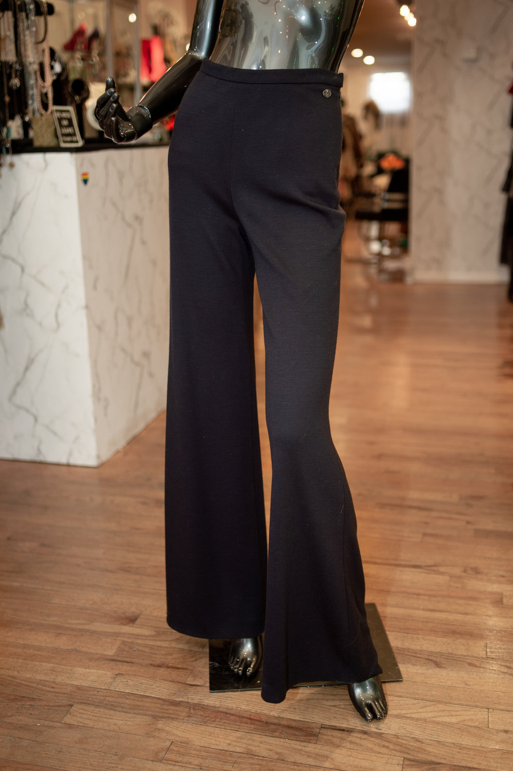 Chanel Wide Leg Pants