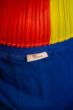Moncler Blue Straight Leg Pants