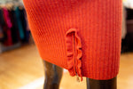 Sonia By Sonia Rykiel Orange Skirt