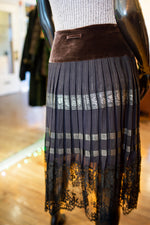Jean Paul Gaultter Pleated Skirt