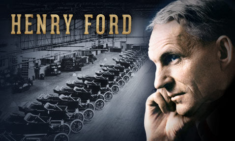 How Henry Ford Revolutionized Manufacturing Offering $5 Per Hour Wage with Shorter Working Hours