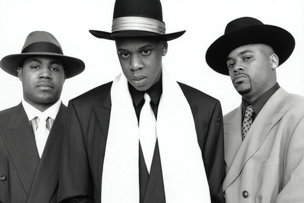 Jay-z, Dame Dash, Biggs in Unreasonable doubt