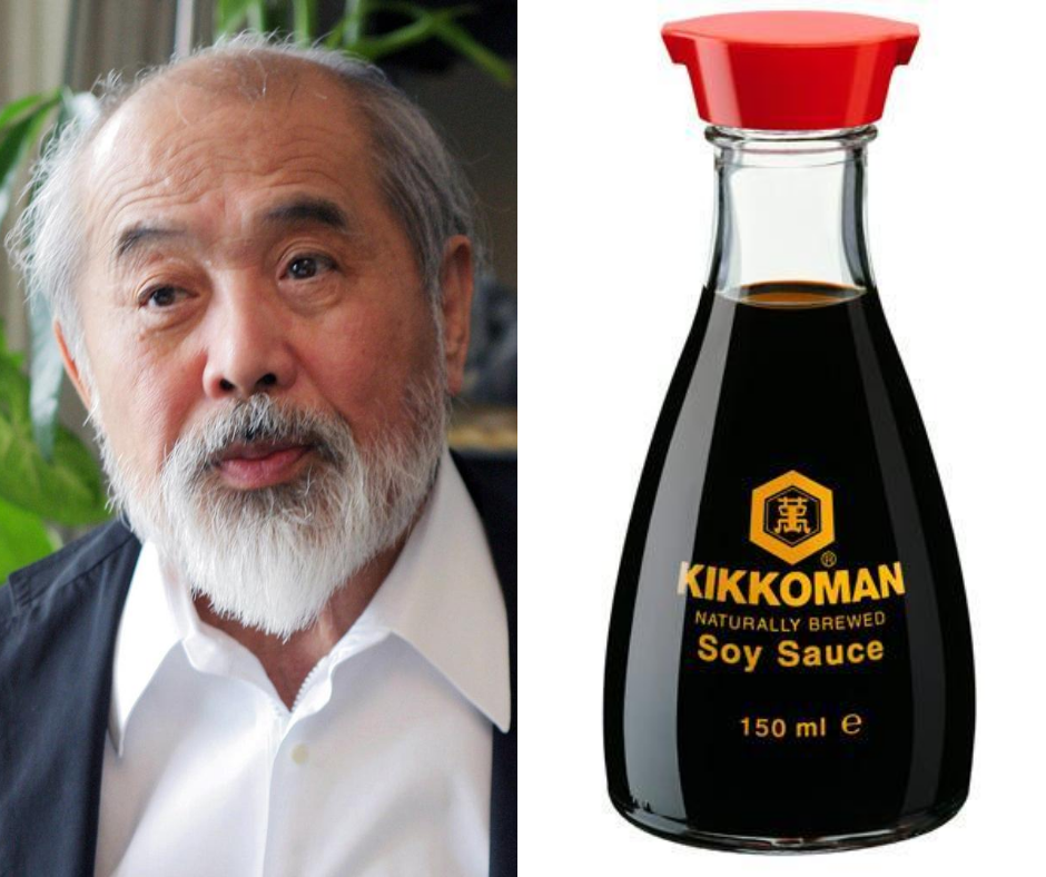 The Man Behind The Design of The Kikkoman Soy Sauce Bottle