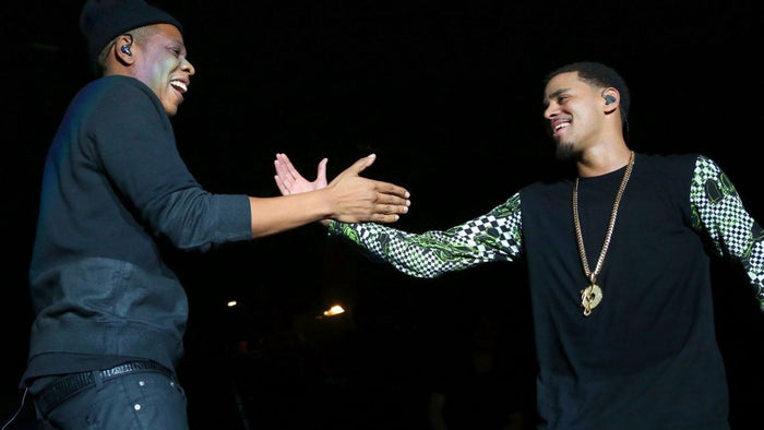 How J.Cole Waited For Jay-Z for 2 Hours In The Rain To Give Him His Mixtape CD