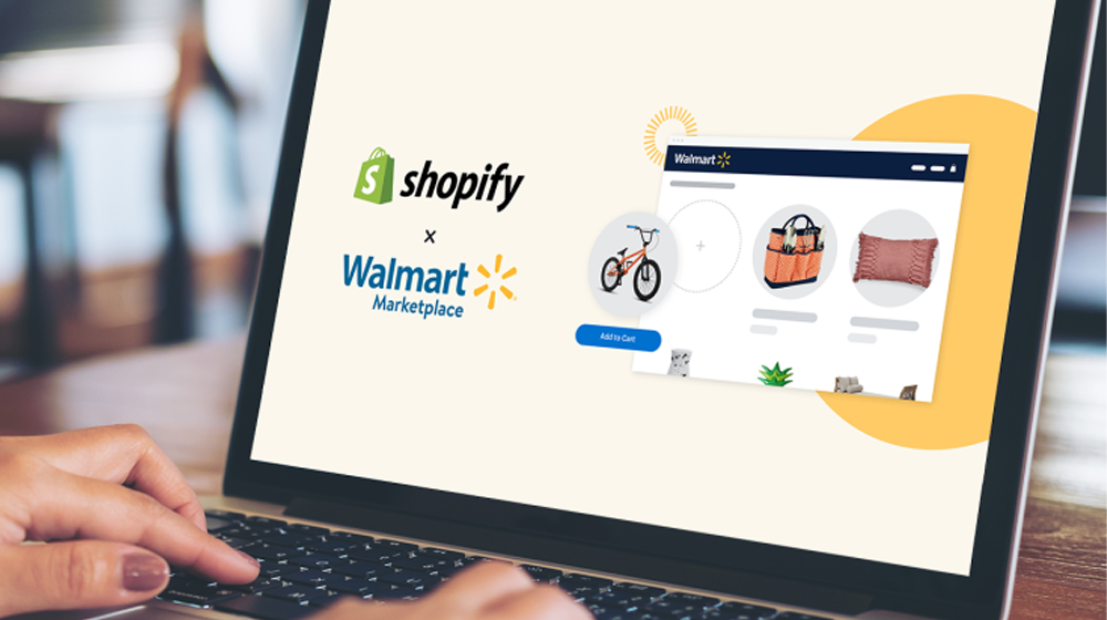 Walmart partners with Shopify