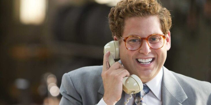 Wolf of Wall st cold calling with Danny Porush