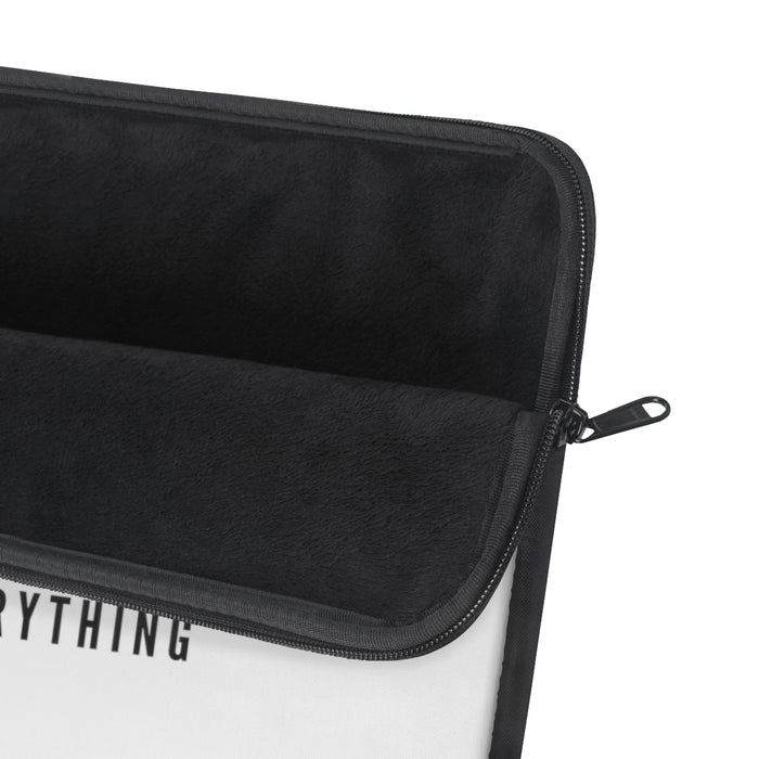 Hustle & Flow Laptop Sleeve - Black