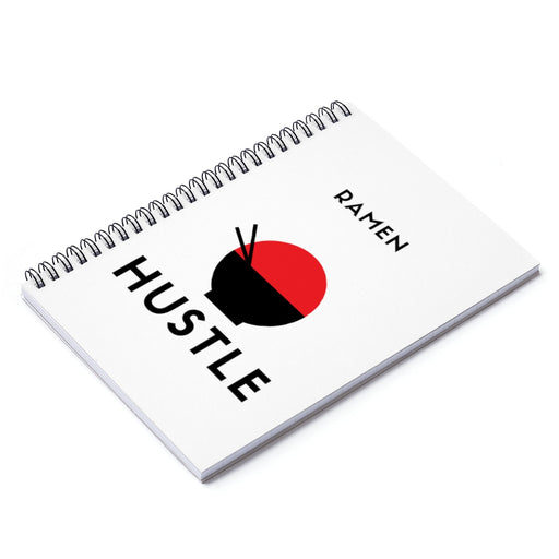 Ramen Hustle Spiral Notebook - Ruled Line