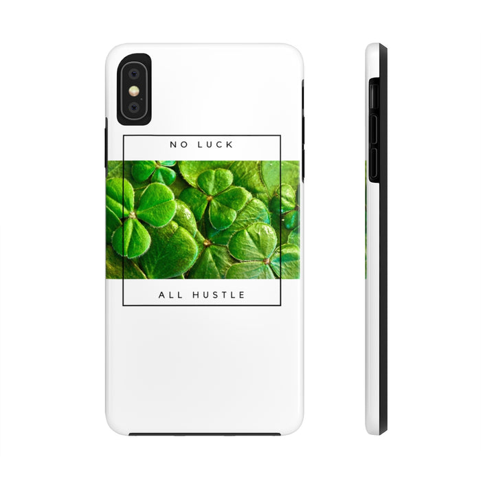 No Luck All Hustle Tough Phone Case for iPhone & Samsung by Case Mate