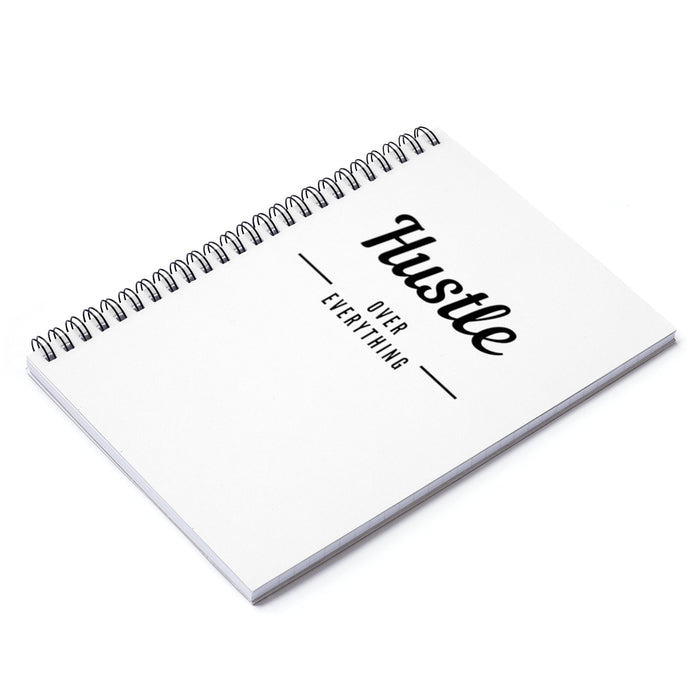Hustle & Flow Spiral Notebook - Ruled Line