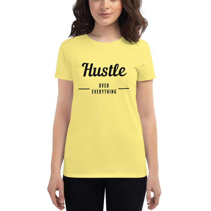 Hustle & Flow Women's Short Sleeve T-shirt - Yellow