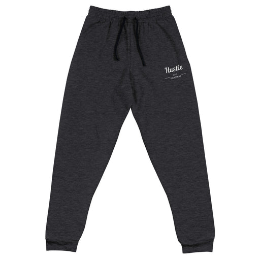 Hustle& Flow Joggers - Heather Black